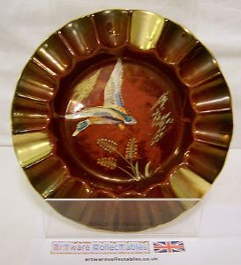 Carlton Ware - Flying Duck Ashtray - Rouge Ground - 1930s - SOLD